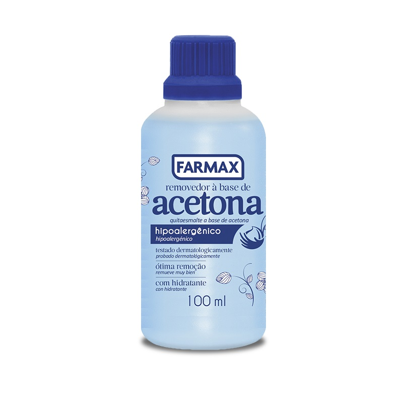 Acetona 100 ml - Farmax